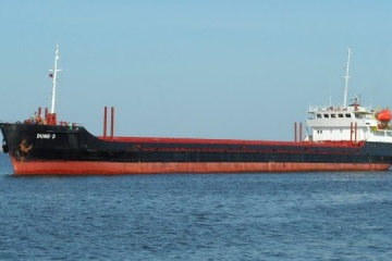 Ship with Ukrainian crew members sinks off Turkey's coast – media