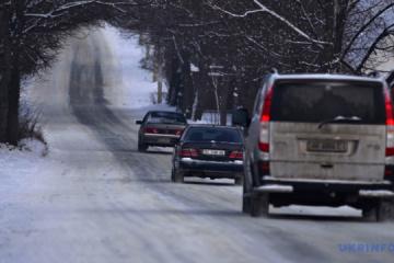 In Oblast Cherson starke Schneefälle gemeldet, Straßen sind offen