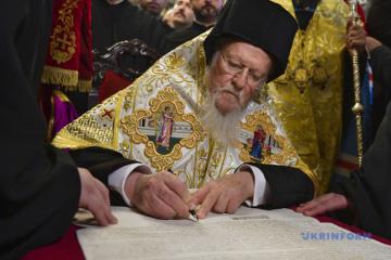 El Patriarca Ecuménico Bartolomé I felicita al presidente electo Volodymyr Zelensky (Carta)