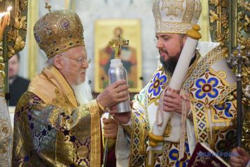 Tomos of Autocephaly of Orthodox Church of Ukraine signed two years ago