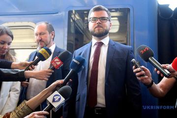 Regierung stimmt Kündigung von Bahnunternehmen Ukrsalisnyzja Krawzow zu