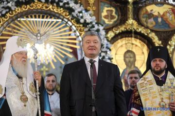 Poroschenko: Staat wird keinen Druck auf Gemeindemitglieder ausüben