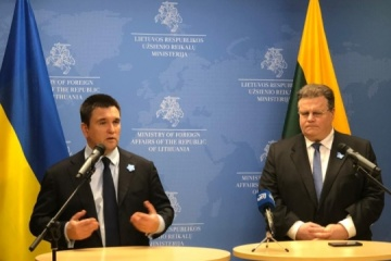 Ukrainian, Lithuanian foreign ministers discuss topical issues of bilateral cooperation