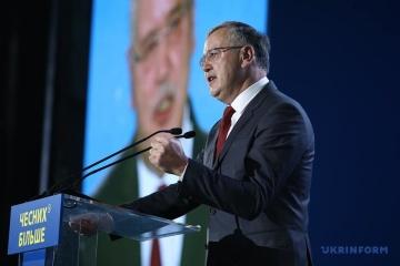 Hrytsenko demands resignation of SBU chief