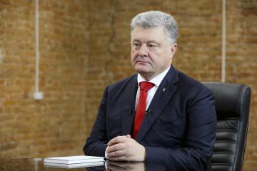 Poroshenko: Seguiremos fortaleciendo las capacidades de combate del ejército ucraniano