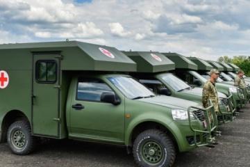 ボフダン社、ウクライナ軍へ新型医療車両を供給へ