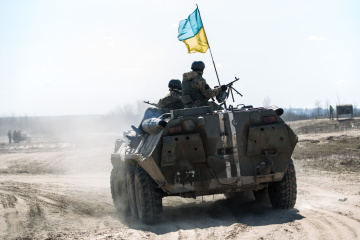 Russian-led forces launched 11 attacks on Ukrainian troops in Donbas in last day