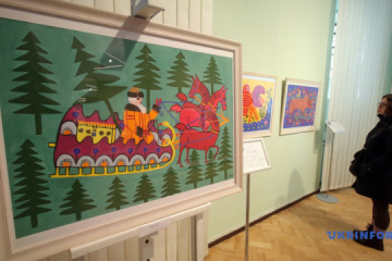艺术家玛利亚·普里马琴科诞辰110周年