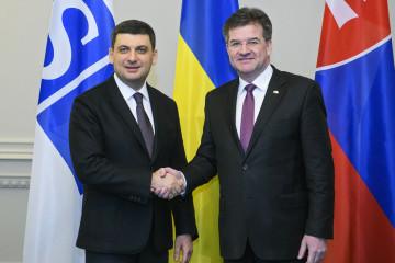 ライチャークOSCE議長「ウクライナ問題はOSCEの優先課題」