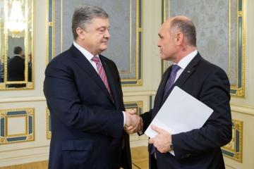 Poroszenko omówił z przewodniczącym parlamentu austriackiego uwolnienie marynarzy i Nord Stream 2
