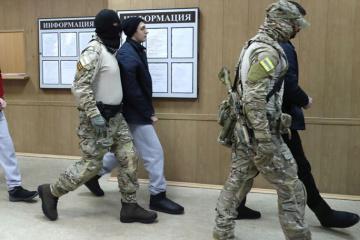 Rosyjski sąd zatrzymał w areszcie jeszcze siedmiu ukraińskich marynarzy