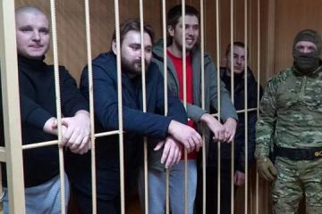 露モスクワ市裁判所、ウクライナ海軍軍人残りの4名の逮捕期間も延長