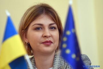 Stefanyschyna von Regierung beauftragt, fünf zusätzliche Abkommen mit EU zu unterzeichnen