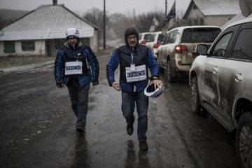Okupanci nie puszczają OBWE na obszary przylegające do granicy z Federacją Rosyjską