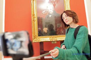 首都多家博物馆将奖励与展品自拍