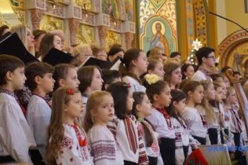 乌克兰唱诗班在纽约唱响圣诞颂歌