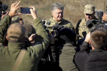 Poroshenko: Ukraine will have no private armies
