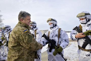 Спецпризначенці за час війни з Росією провели понад 700 операцій — Порошенко