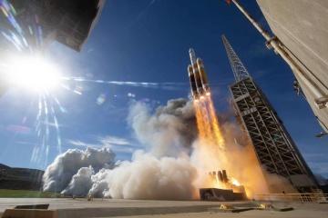 Компанія ULA запустила ракету Delta IV Heavy з військовим супутником