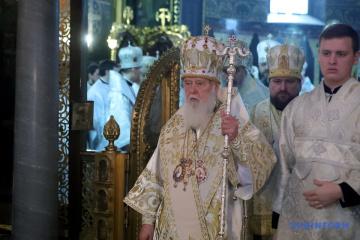Filaret dopuszcza, że może dojść do rozłamu w Prawosławnym Kościele Ukrainy