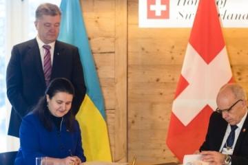 Ukraine und Schweiz unterzeichnen Abkommen zur Vermeidung der Doppelbesteuerung