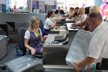 Passenger flow in Boryspil International Airport grows