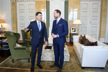 Ukrainian PM, Crown Prince of Norway discuss bilateral relations