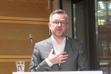 ドイツ外務事務次官、ウクライナの欧州的未来の条件を述べる