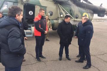 Außenminister der Ukraine, Dänemarks und Tschechiens besuchen Mariupol - Fotos