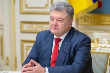 Poroszenko ogłosił zamiar wzięcia udziału w wyborach prezydenckich