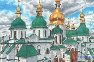 Sushchenko sends new drawing from Russian prison