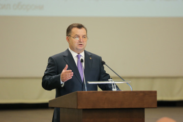 Defense ministers of Ukraine and Denmark discuss military and political situation in Ukraine