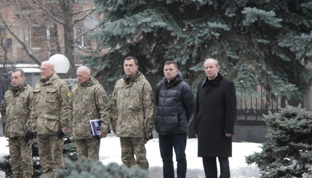 На территории Минобороны прозвучал Колокол памяти по погибшим бойцами