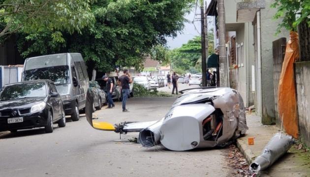 У Ріо-де-Жанейро поліцейський гелікоптер упав у воду, є жертви