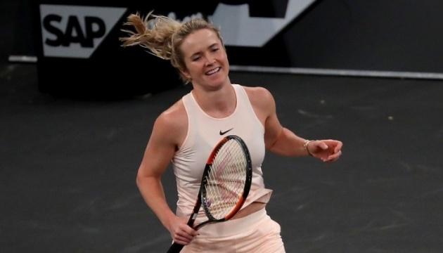 Теннис: Свитолина сыграет с Саснович за выход в четвертьфинал турнира в Брисбене