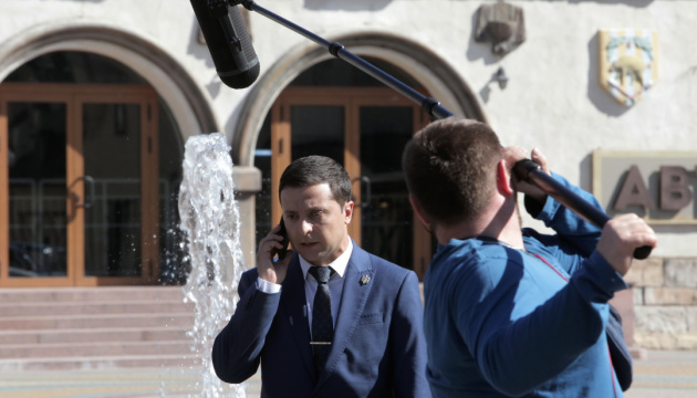 Servant of the People Party nominates Zelensky for president