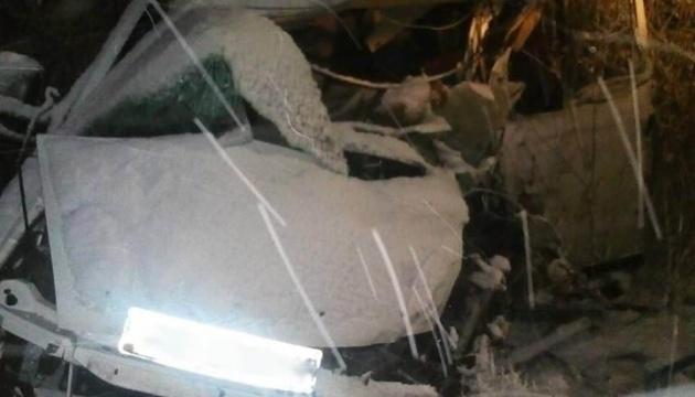 Тройное ДТП на Львовщине задержали водителя автоцистерны