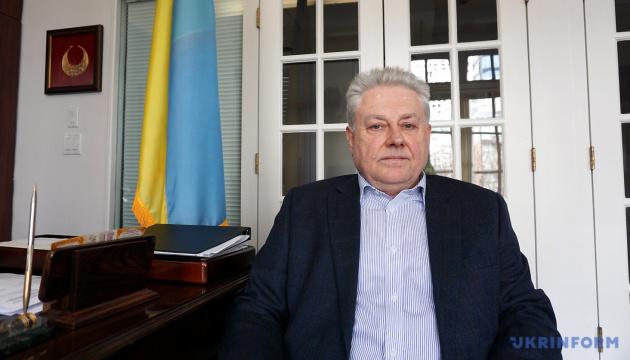 Ельченко обсудил доступ к пленных моряков с представителем Красного Креста при ООН