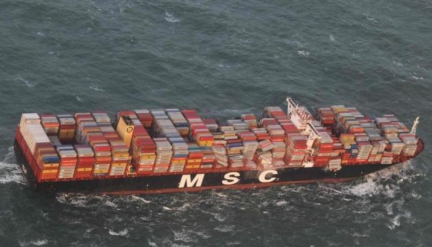 В Северном море ищут пропавшие контейнеры с опасными веществами