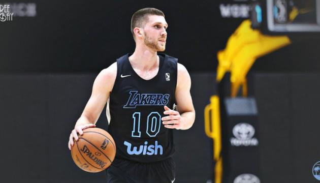 Михайлюк набрал 20 очков в матче Лиги развития НБА