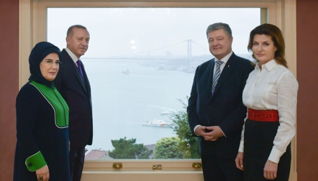 Petro Porochenko s'est entretenu avec Recep Tayyip Erdoğan