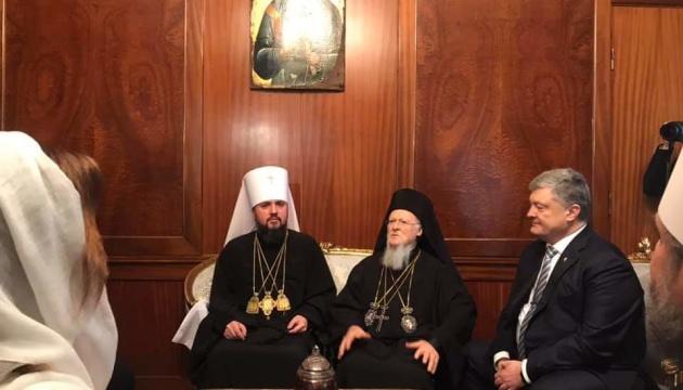 ヴァルソロメオス・コンスタンティノープル総主教とエピファニー・ウクライナ正教会首座主教が初会談