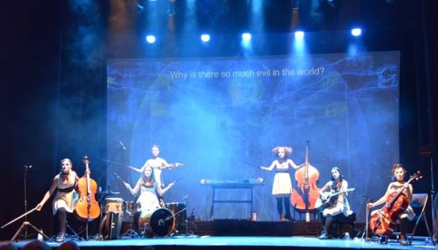 Культовая украинская группа Dakh Daughters выступила в Вашингтоне