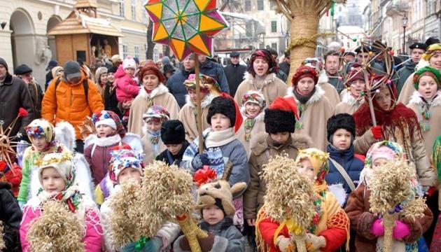 Українці по всьому світу зустрічають Різдво Христове