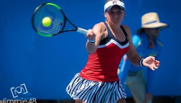 Теннис: Козлова сыграет в основе турнира в Хобарте как