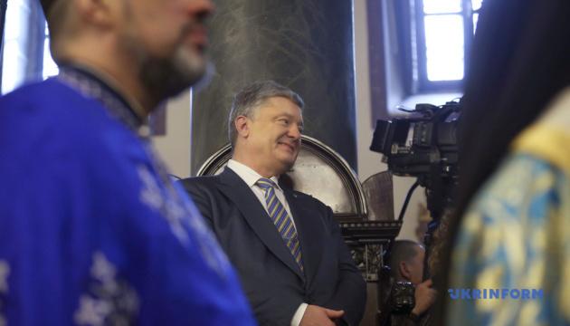 ポロシェンコ大統領、ウクライナ正教会独立について「神がウクライナ民族の闘いを評価された」