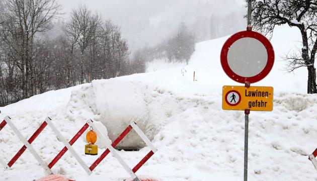 Поезд из Австрии не доехал до Цюриха из-за поваленного дерево