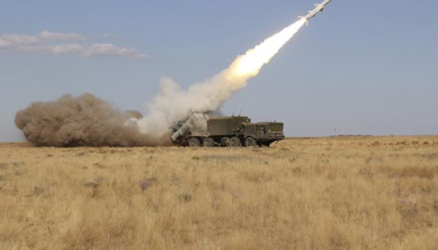 Росія провела ракетні навчання в окупованому Криму