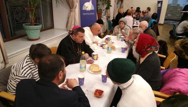 В Україні сьогодні відбудеться 20-й Різдвяний обід для бідних
