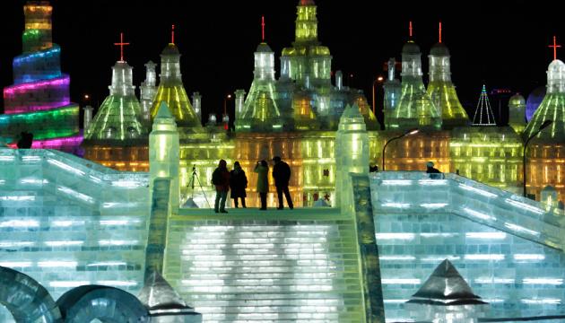 В Китае открылся 35-й Международный фестиваль льда и снега